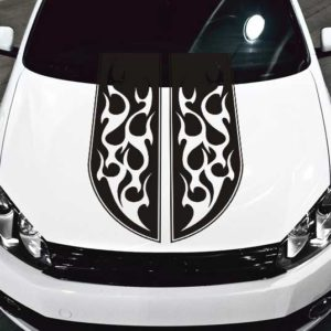 Car Hood Decals Archives Jeepazoid - Flame stikers for car