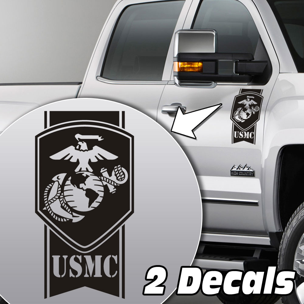 USMC Globe & Anchor Truck Door/Fender Decal