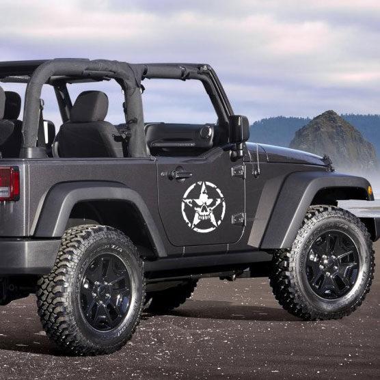 Jeep Wrangler Army Star Door Kit & Jeep Wrangler Army Star Door Kit u2013 Jeepazoid