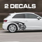 tribal car door decal sticker kit