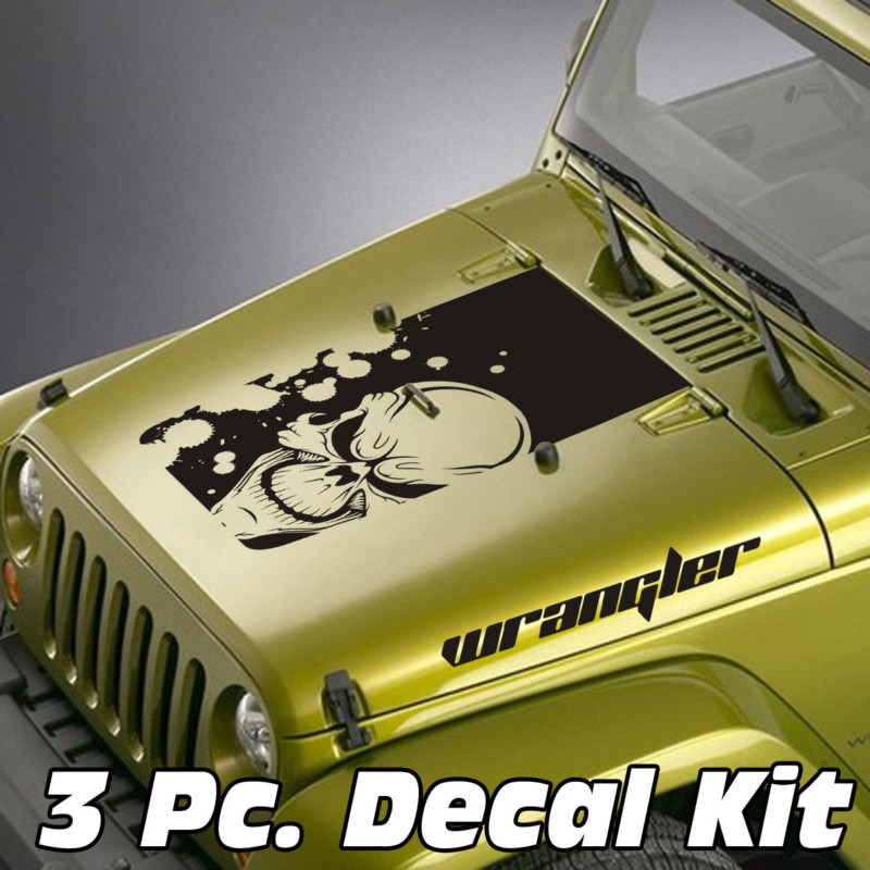 demon skull jeep blackout decal sticker