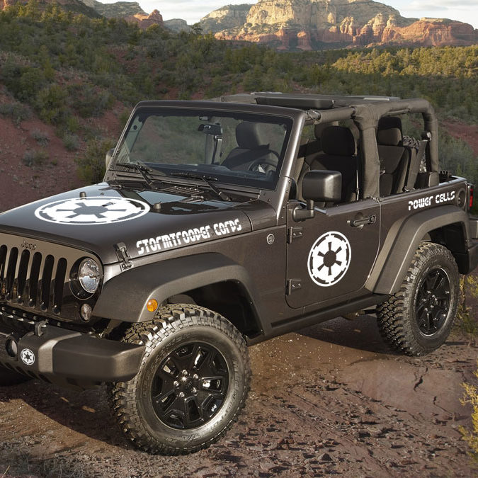 jeep wrangler stormtrooper corps decal kit jeepazoid. Black Bedroom Furniture Sets. Home Design Ideas