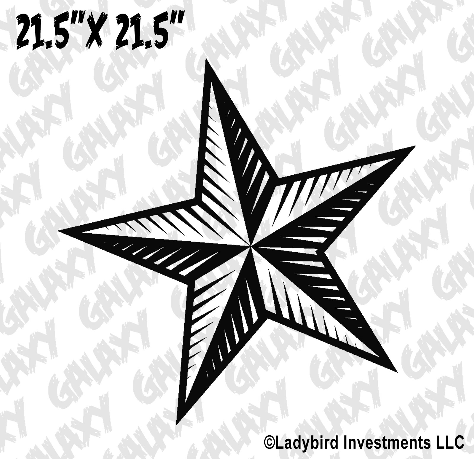 Tj Auto Sales >> Jeep Wrangler Hood Decal Nautical Star Sticker – SkunkMonkey